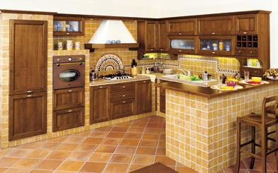 cucine per tavernetta : Le cucine in muratura o rustiche hanno un fascino immutato che ...